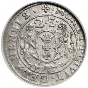 Zygmunt III Waza, Ort Gdańsk 1623 - skrócona data