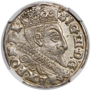 Zygmunt III Waza, Trojak Bydgoszcz 1598 - menniczy