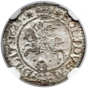 Zygmunt III Waza, Szeląg Wilno 1623 - piękny