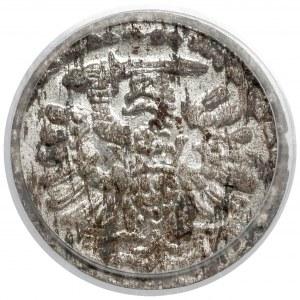 Zygmunt III Waza, Denar Gdańsk 1595 - piękny