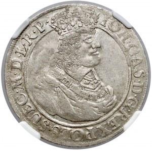 Jan II Kazimierz, Ort Gdańsk 1662 DL - ogony proste