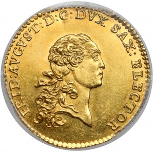 Saschen, Friedrich August III, Dukaten 1768 EDC, Dresden