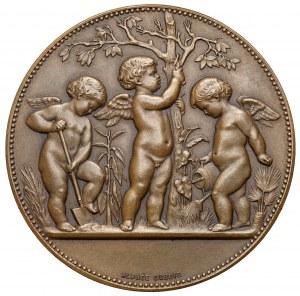 Francja, GOVIGNON, Medal Société d' Horticulture 1852-1902 - BRĄZ