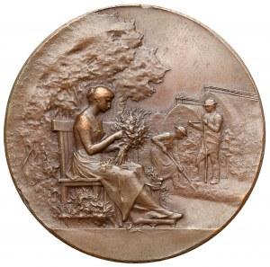 Francja, GOVIGNON, Medal Société d' Horticulture de l'Allier - BRĄZ 1904