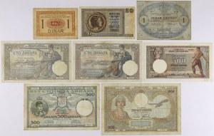 Yugoslavia - lot of 8 banknotes