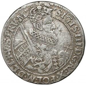 Zygmunt III Waza, Ort Bydgoszcz 1621 - PRV:M - RZADKI portret