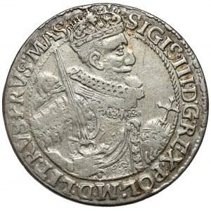 Zygmunt III Waza, Ort Bydgoszcz 1621 - 166-21 - SIGIS - wczesny portret - RZADKI
