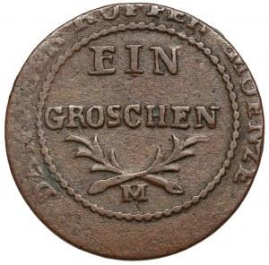 Wolne Miasto Gdańsk, Grosz 1812-M