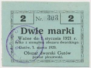 Gutów, 2 marki 1920
