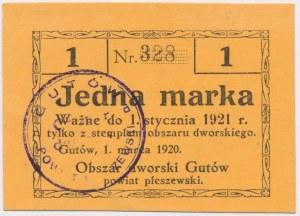 Gutów, 1 marka 1920