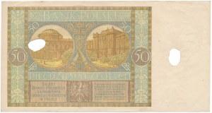 50 złotych 1929 - skasowane