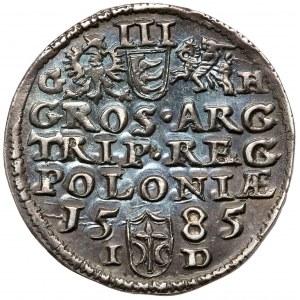 Stefan Batory, Trojak Olkusz 1585 GH - Hose - piękny