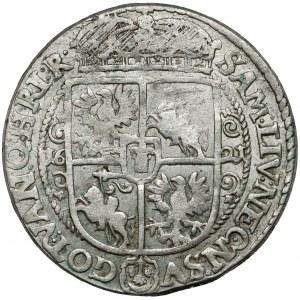 Zygmunt III Waza, Ort Bydgoszcz 1621 - PRS/V - ładny