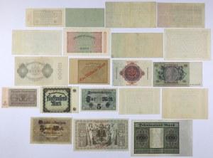 Niemcy, zestaw banknotów MIX (20szt)