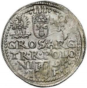 Zygmunt III Waza, Trojak Olkusz 1595 - b.ładny