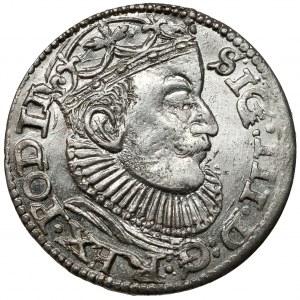 Zygmunt III Waza, Trojak Ryga 1589 - +GE+ - PIĘKNY