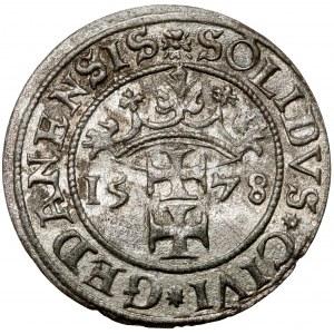 Stefan Batory, Szeląg Gdańsk 1578