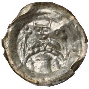 Leszek Biały, Brakteat - biskup nad łukiem z budowlami
