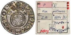 Zygmunt III Waza, Półtorak 1614, Kraków - NAŚLADOWNICTWO - ex. Kałkowski