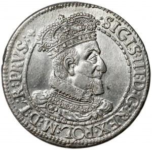 Zygmunt III Waza, Ort Gdańsk 1616 - kołnierz - b.ładny
