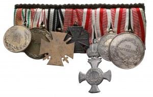 Austro-Węgry - szpanga medali i odznaczeń