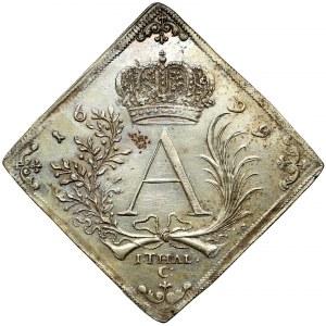 August II Mocny, Klipa talara strzeleckiego 1699, Drezno