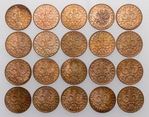 5 groszy 1939, zestaw (20szt)