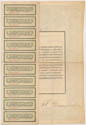 5% Poż. Krótkoterminowa 1920, Obligacja na 1.000 mkp