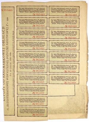 5% Poż. Długoterminowa 1920, Obligacja na 1.000 mkp