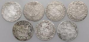 Zygmunt III Waza, Ort Bydgoszcz 1621-1623 - zestaw (7szt)
