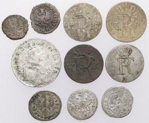 Deutschland, ein Satz Münzen von schilling bis 6 groschen, lot (10pcs)
