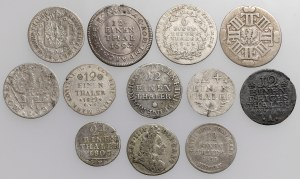 Deutschland und Dänemark, Silbermünzensatz (12pcs)