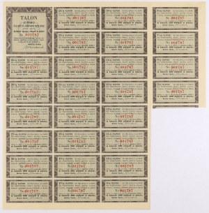 4% Państwowa Renta Złota 1937, Obligacja na 10.000 zł - rzadkość