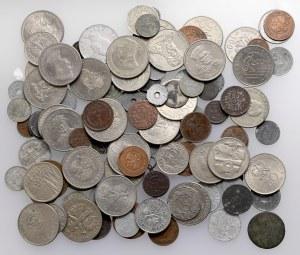 Zestaw monet MIX, głównie XX wiek