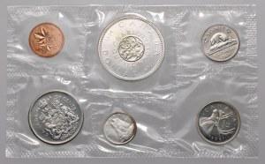 Kanada, zestaw monet 1964 rok (6szt)