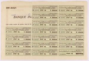 Polski Bank Przemysłowy, 100 zł 1926
