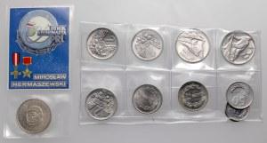 Mennicze monety PRL, w tym EFEKTOWNE słoneczko i
