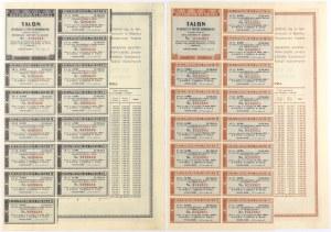 4% Poż. Konsolidacyjna 1936, Obligacje na 50 i 100 zł (2szt)