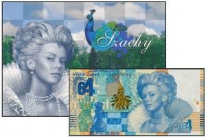 PWPW 64 Szachy - AA 0000369 - w małym folderze