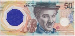 PWPW 50 Chaplin - w folderze PWPW