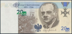 PWPW 16 Matuszewski - w folderze emisyjnym