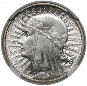 Głowa Kobiety 2 złote 1934