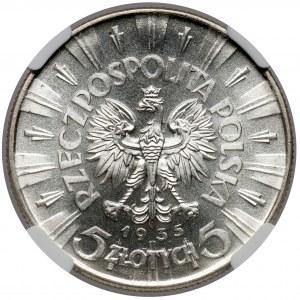 Piłsudski 5 złotych 1935 - PIĘKNE