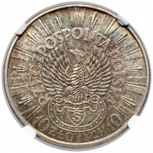 Strzelecki Piłsudski 10 złotych 1934