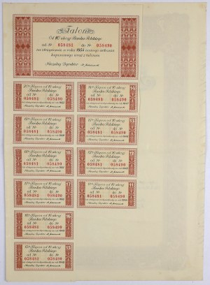 Bank Polski, Em.3, 10x 100 zł 1934