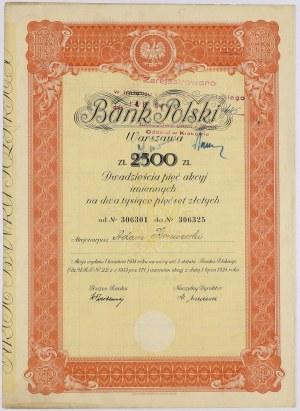 Bank Polski, Em.3, 25x 100 zł 1934