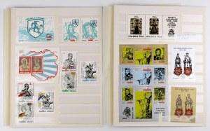 Solidarność, Zestaw znaczków związanych z Litwą (16szt)