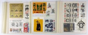 Solidarność - znaczki związane z Rusią i Ukrainą (17szt)