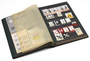 Solidarność, KOLEKCJA znaczków i cegiełek w klaserze (~188szt)