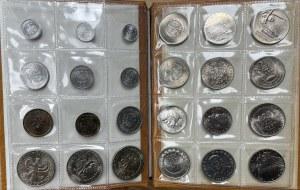 Albumik monet PRL - mennicze stany i rzadsze typy (24szt)
